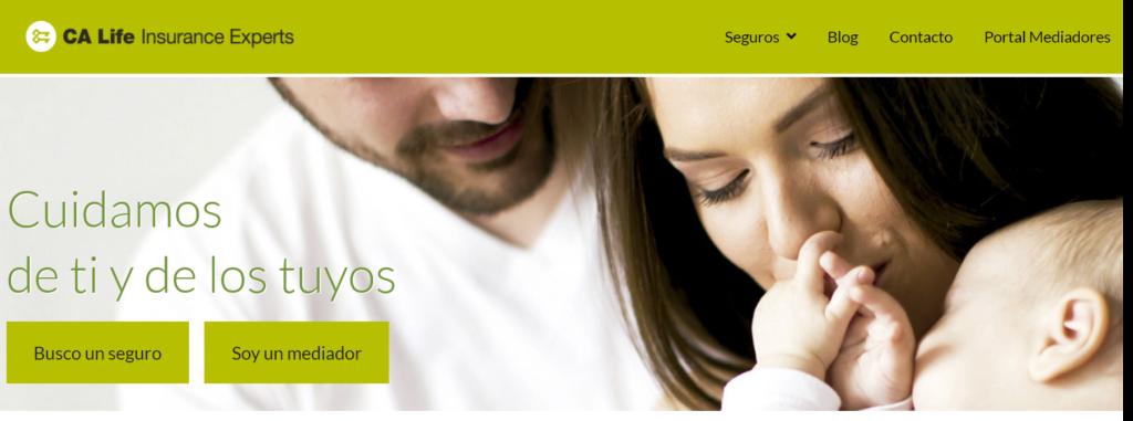 CA life Insurance lanza su nueva web con nuevos contenidos